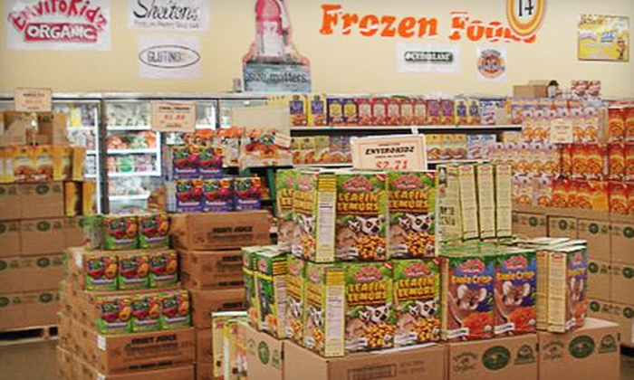 Natural Foods Warehouse - Multiple Locations: $10 for $20 Worth of Natural Groceries and Supplements at Natural Foods Warehouse
