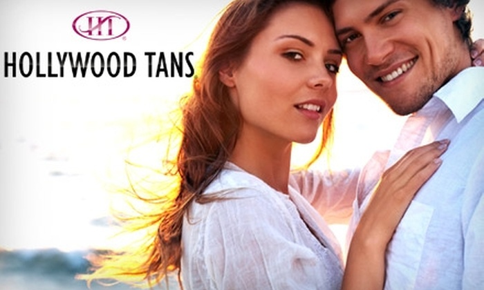 Hollywood Tans & Spa - Multiple Locations: $25 for One Month of Unlimited Tanning in High-Pressure Beds and One Mystic Tan Session at Hollywood Tans & Spa (Up to $95 Value)