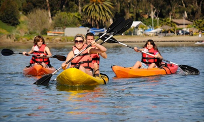 Carlsbad Lagoon - Carlsbad: $23 for a Two-Hour Kayak, Canoe, Aqua Cycle, or Standup Paddleboard Rental at Carlsbad Lagoon (Up to $50 Value)