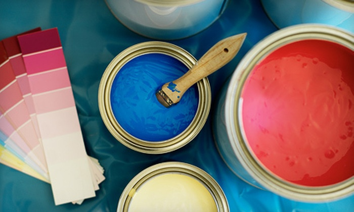 Fuller Painting - Downtown: Professional Interior Painting of One, Two, or Three Rooms from Fuller Painting (Up to 66% Off)