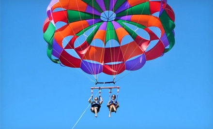 Super Parasail Flight for One, Two, or Four from Sky Pirate Parasail (Up to 54% Off)