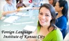 Foreign Language Institute of KC - Platte Ridge: $139 for 10-Week Language Course and Book Rental at Foreign Language Institute of Kansas City in Platte Woods ($282 Value)