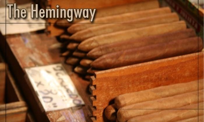 Hemingway - Myatt: $10 for $20 Worth of Cigars and Gifts at Hemingway