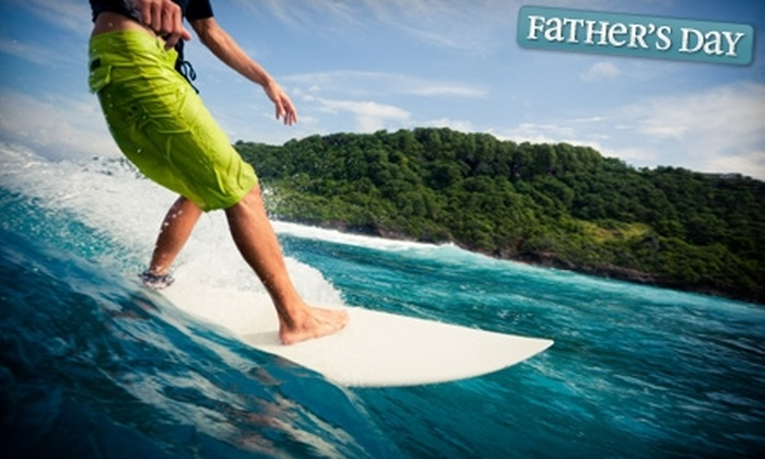 Hawaii Hot Spot Surf School - Honolulu: Standup Paddle Safari or Two-Hour Surf Lesson at Hawaii Hot Spot Surf School