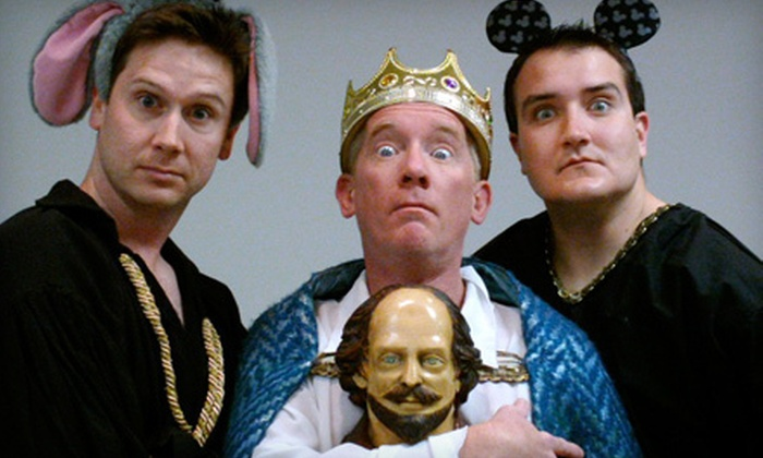 """""""The Complete Works of William Shakespeare (Abridged)"""" presented by The Company Theatre - Downtown: $15 for Two Tickets to """"The Complete Works of William Shakespeare (Abridged)"""" at Arneson River Theater (Up to $30 Value)"""