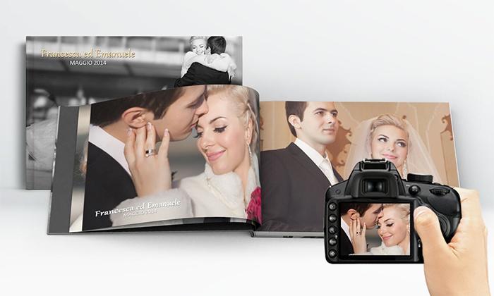 Printerpix: Fotolibro con copertina rigida. Varie misure disponibili da 12 €