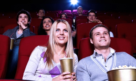 Movie Outing for Two or Four with Popcorn and Drinks at Hawthorne Theater (Up to 53% Off)