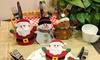 Porte-couverts thème Noël