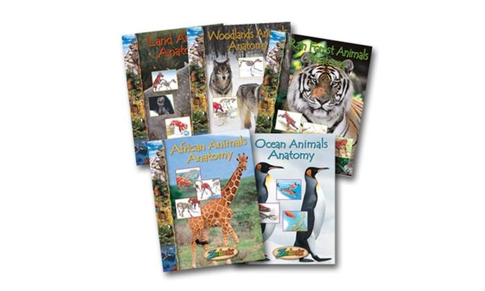 Zoobooks Animal Anatomy Set Zoobooks Groupon