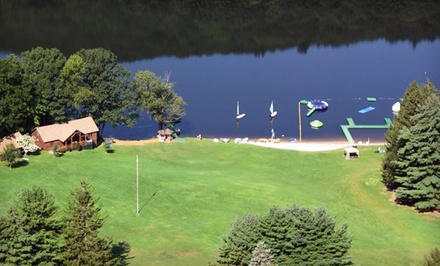 Groupon Deal: Weekend Adventure Package for One in a Triple- or Quad-Occupancy Room at Club Getaway in Berkshires, CT