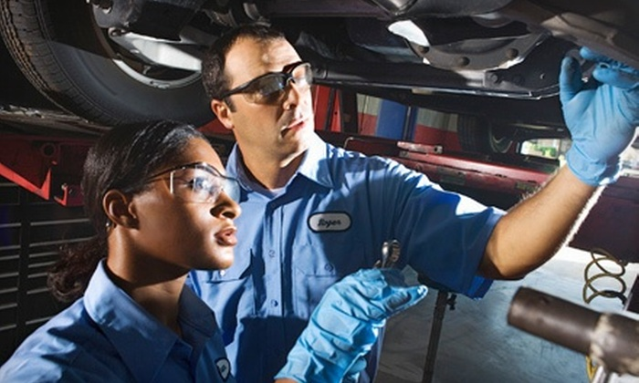 Lee's Summit Mitsubishi - Lee's Summit: Oil Change with Inspection and Exterior Wash or Lifetime Tire Rotations at Lee's Summit Mitsubishi (Up to 58% Off)