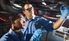 OOB - Lees Summit Mitsubishi - OOB - Lee's Summit: Oil Change with Inspection and Exterior Wash or Lifetime Tire Rotations at Lee's Summit Mitsubishi (Up to 58% Off)