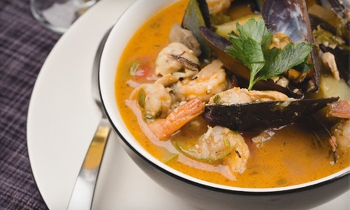La Vie Fusion Bistro and Lounge - Energy Corridor: Creole, Caribbean, and Soul Food for Two or Four at La Vie Fusion Bistro and Lounge (Half Off)