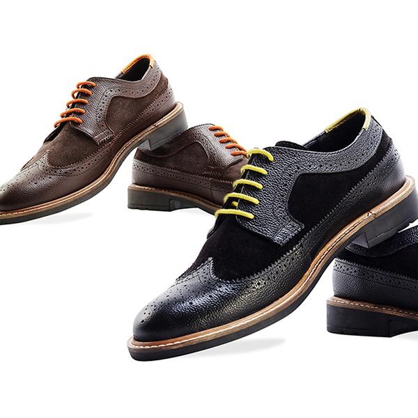 249,99 zł: stylowe buty męskie ze skóry – 6 rozmiarów, 2 kolory do wyboru