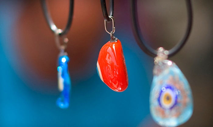 Canterbury Stained Glass - Pontiac Downtown: $21 for a Two-Hour Pendant-Making Class or a Stained-Glass Jewelry-Making Class at Canterbury Stained Glass ($44 Value)