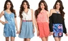 Sleeveless and Off-the-Shoulder Minidresses: Sleeveless and Off-the-Shoulder Minidresses. Multiple Styles Available. Free Returns.