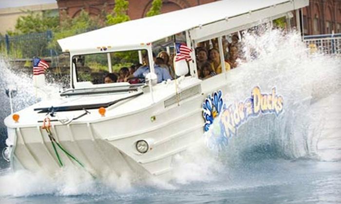 Ride The Ducks Newport - Newport: $17 for an Amphibious-Tour Outing for Two from Ride The Ducks Newport ($34 Value)