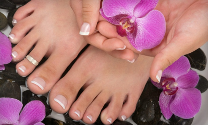 Academy of Nail Technology - Alhambra: Spa or Gel Mani-Pedi at Academy of Nail Technology (Up to 52% Off)