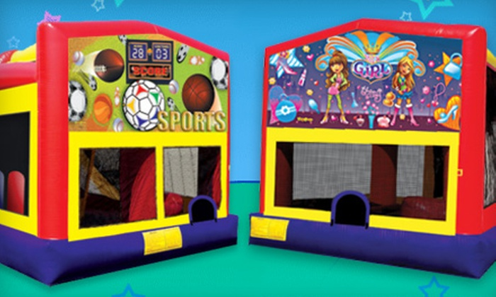 Funtastic Jumps - West Old Town: Four-Hour Party Package with Bounce House or Inflatable Slide and Concessions from Funtastic Jumps (Up to 52% Off)