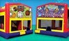 Funtastic Jumps ( Locojumps) - West Old Town: Four-Hour Party Package with Bounce House or Inflatable Slide and Concessions from Funtastic Jumps (Up to 52% Off)