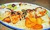 Athens Restaurant Co. - West End: Souvlaki Dinner for Two or Four or À La Carte Breakfast at Athens Restaurant