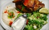 Aladdin Jr - Pomona: Arabic Meal for Two or Four at Aladdin Jr. Restaurant & Cafe in Pomona (Up to 53% Off)