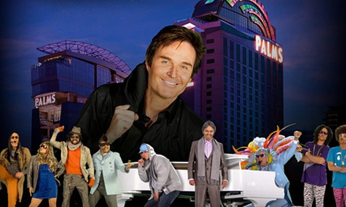 Jeff Tracta - Palms Casino Resort: $58 for Jeff Tracta Comedy Show at Pearl Concert Theater at Palms Casino Resort ($112.35 Value). Four Shows Available.