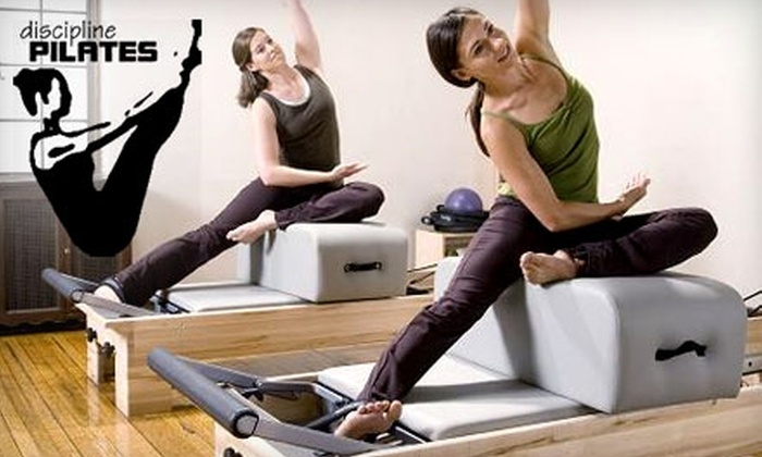 Discipline Pilates - Macon: $25 for One Private Pilates Lesson or Two Group Sessions at Discipline Pilates (Up to $55 Value)