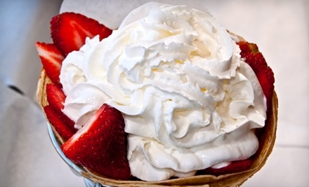 $10 Groupon to California Crepes - California Crepes in San Diego