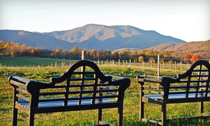Fairview Bed & Breakfast Estate - Boonsboro: $249 for a Two-Night Stay for Two with Massage and Wine at Fairview Bed & Breakfast Estate in Amherst (Up to $550 Value)