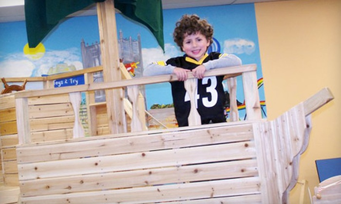 E2 Toys2Try, LLC - Pittsburgh: $8 for Two Children's Play Passes at E2 Toys2Try, LLC ($16 Value)