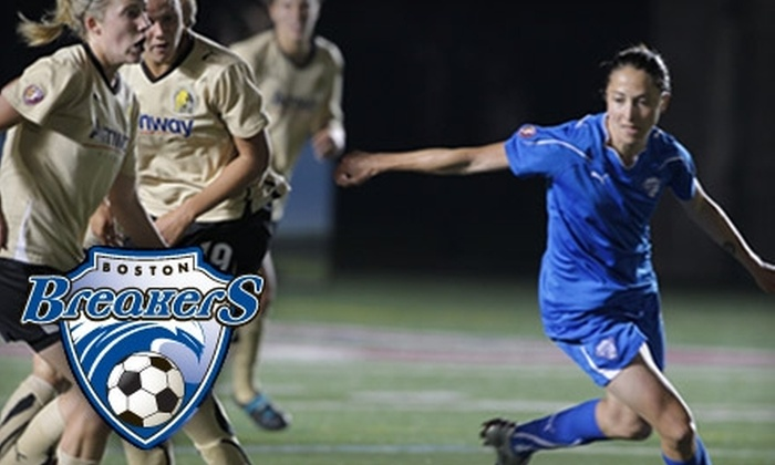 Boston Breakers - Allston: Ticket to a Boston Breakers Women's Soccer Home Game (Up to a $27 Value). Multiple Dates and Seating Levels Available.