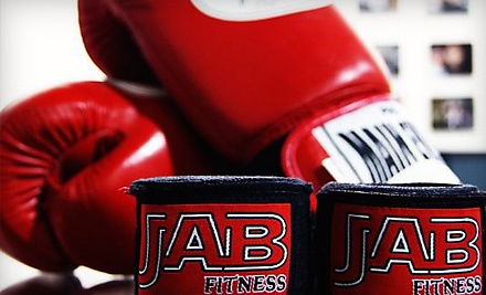 5 Class Punch Card (a $100 value) - Jab Fitness in Tempe