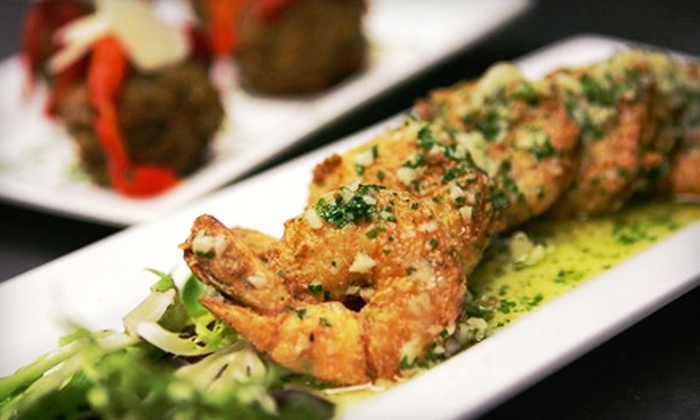 The Talk - Downtown Watertown: Italian-American Cuisine at The Talk (50% Off). Two Options Available.