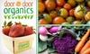 Door to Door Organics - Kansas City: $17 for One Box of Delivered Organic Produce from Door to Door Organics ($34.21 Value)