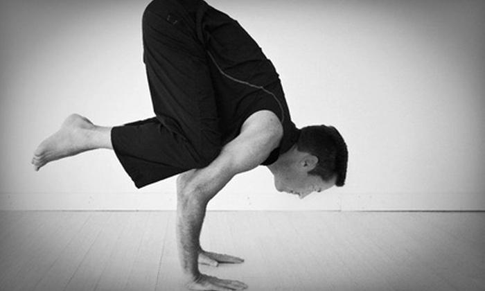 Inspire Yoga Studio - Highland Village: $29 for One Month of Unlimited Yoga at Inspire Yoga Studio in Highland Village (Up to $142 Value)