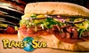 $5 for Sandwiches and More at Planet Sub