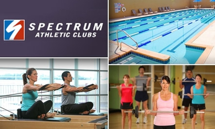 Spectrum Athletic Club - San Antonio: $49 for a One-Month All-Access Membership to Spectrum Athletic Club ($149 Value)