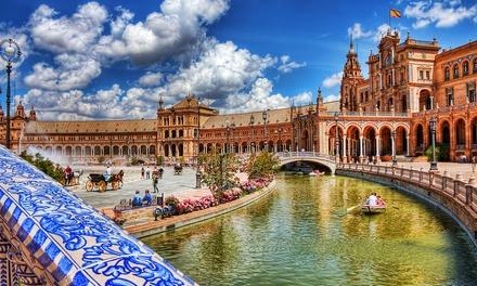 Sevilla: estudio para 2 personas con parking y opción a niño de hasta 12 años gratis en Hotel Apartamentos Simon Verde