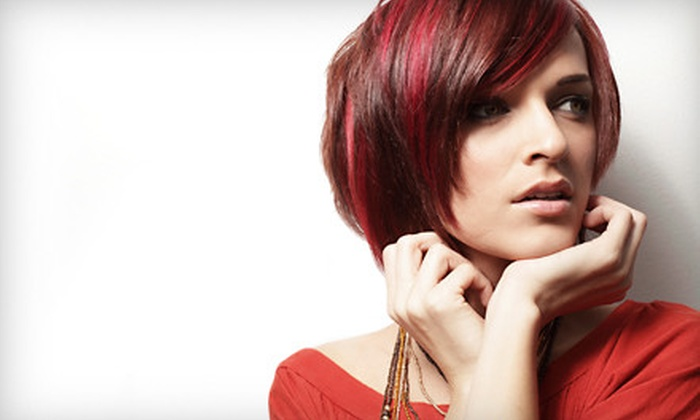 Studio La Vie at Riverview - Riverview - Stuart Heights: Cut and Color, Mini Keratin Treatment, or Highlights, Cut, and Condition at Studio La Vie at Riverview (Up to 58% Off)