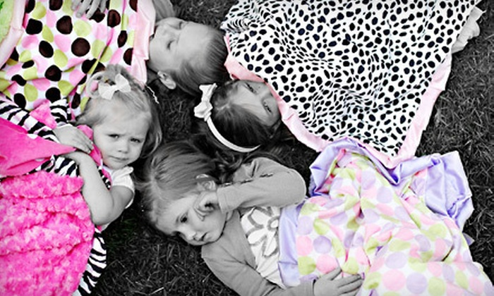 Minky Couture: $35 for $70 Worth of Handmade Plush Blankets from Minky Couture