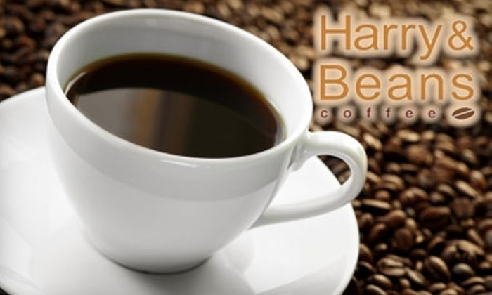 Harry and Beans Coffee: $15 for $30 Worth of Specialty Coffee Roasts from Harry & Beans Coffee