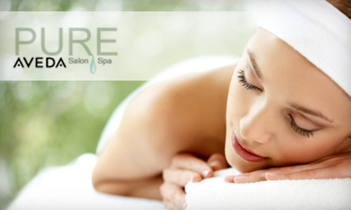 Pure Salon and Spa - Dracut: $55 for a 90-Minute Rosemary-Mint Body Massage at Pure Salon and Spa ($110 Value)