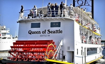 Queen of Seattle Paddle Wheel Cruises - Queen of Seattle Paddle Wheel Cruises in Seattle