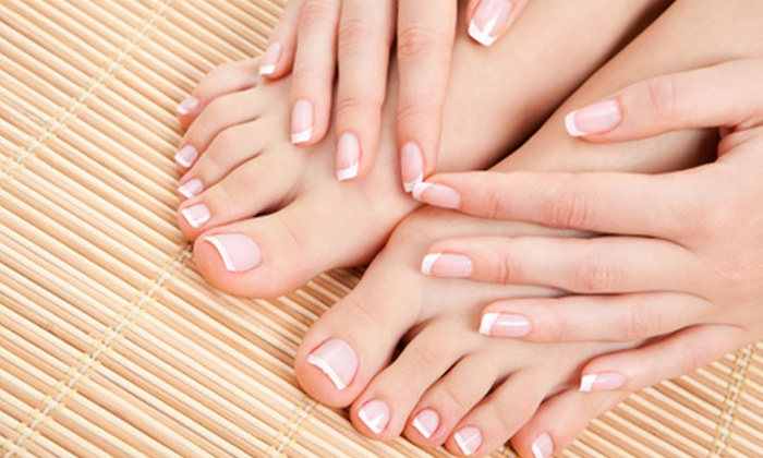 Glamour Center - Hallandale Beach: $22 for a Basic Manicure and Spa Pedicure at Glamour Center in Hallandale Beach (Up to $50 Value)