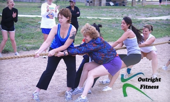 Outright Fitness - Multiple Locations: $59 for 12 Outdoor Group Exercise Sessions from Outright Fitness ($144 Value)