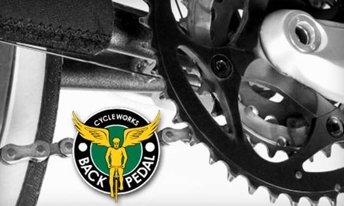 Backpedal Cycleworks - Mt. Scott - Arleta: $79 for the 70-Point Overhaul Bicycle Tune-Up at Back Pedal Cycle Works