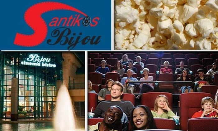 Bijou Cinema Bistro - Balcones Heights: $9 for a Ticket, Popcorn, and Soda at Bijou Cinema Bistro