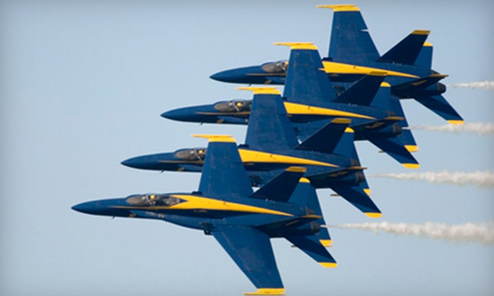Miramar Air Show: Two Friday or Sunday Grandstand Tickets to the Miramar Air Show at the Marine Corps Air Station Miramar