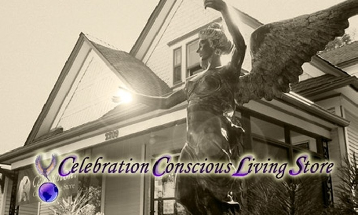 Celebration Conscious Living - Old Colorado City: $22 for a 30-Minute Psychic Reading and $10 Worth of Merchandise at Celebration Conscious Living ($45 Value)